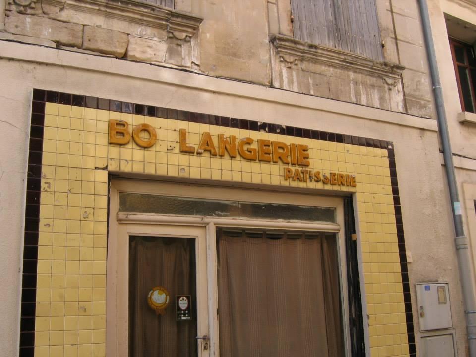 old boulangerie in Arles