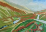 oil painting of Barbondale, A2