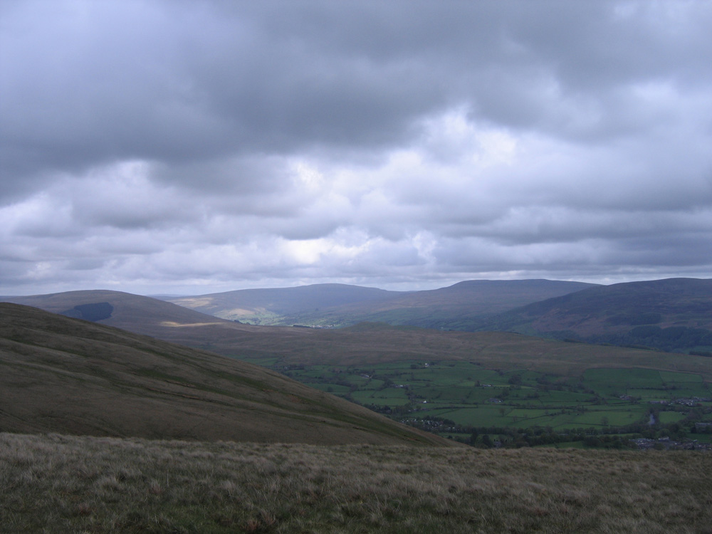 photo of clouds over Dentdale
