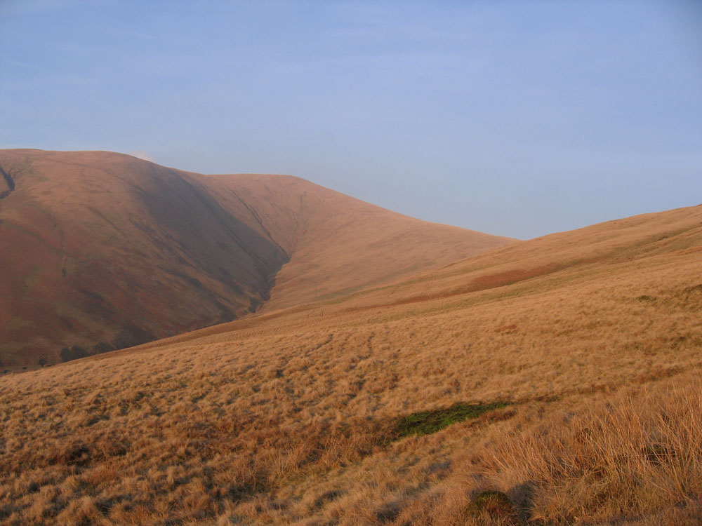 golden evening light in Crosdale