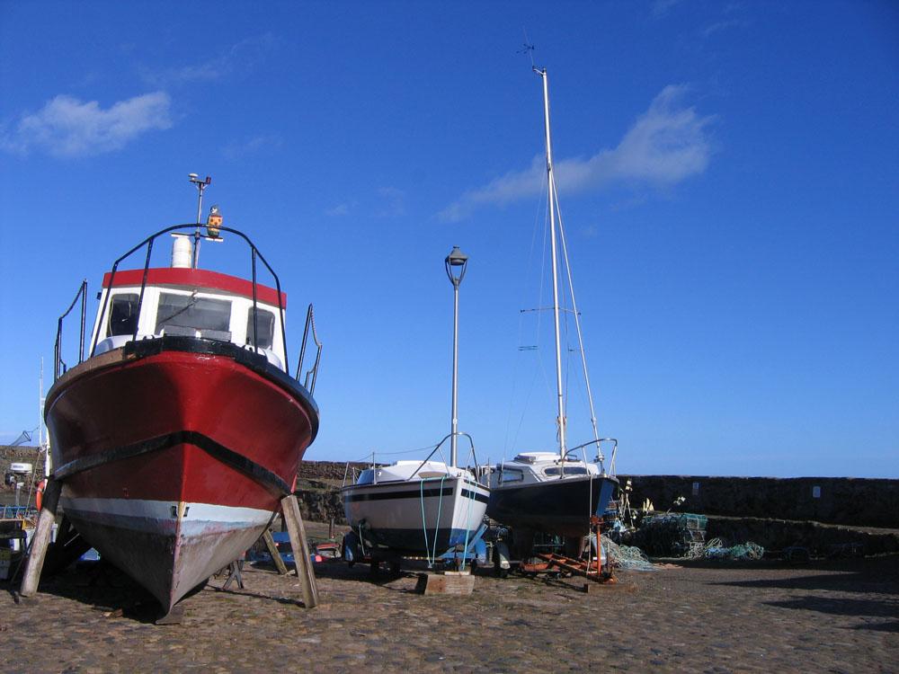 boats at Dunbar