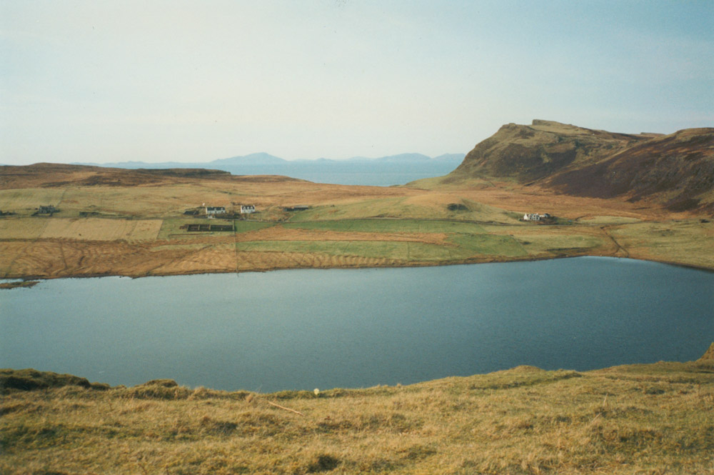 at waterstein on the isle of skye