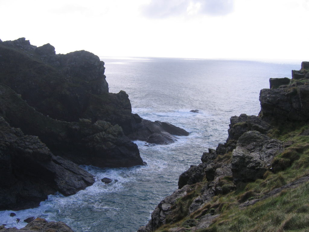 A Cornish inlet, seascape photo