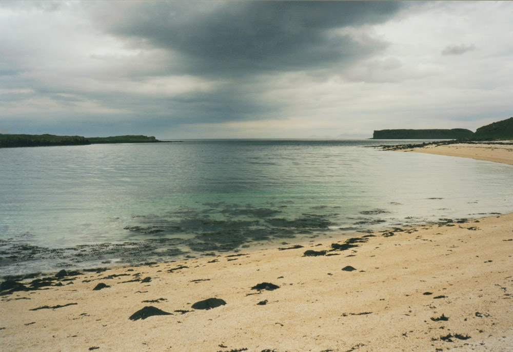 photo of coral beach, skye