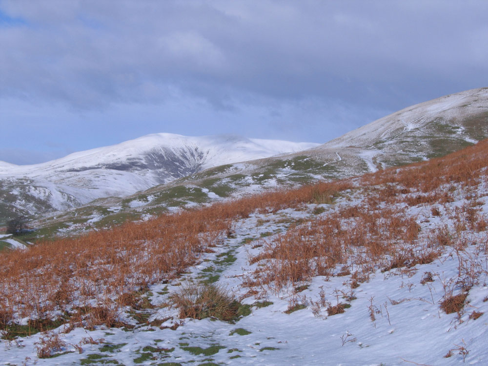 image of snow on the hills