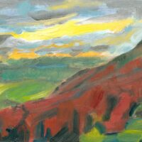 Winder looking west oil painting