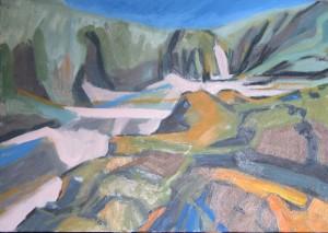 oil painting on canvas, Dibidal