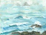 The Brisons, plein air, oil on canvas, 6x8 inches